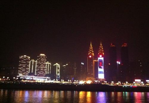 四川重庆夜景