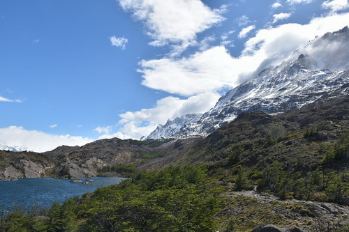 南美洲智利巴塔哥尼亚裴恩