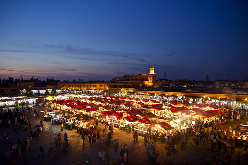 北非沙特阿拉伯摩洛哥